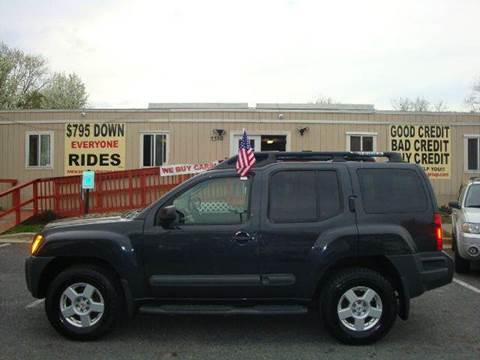 2005 Nissan Xterra for sale at Source Auto Group in Lanham MD