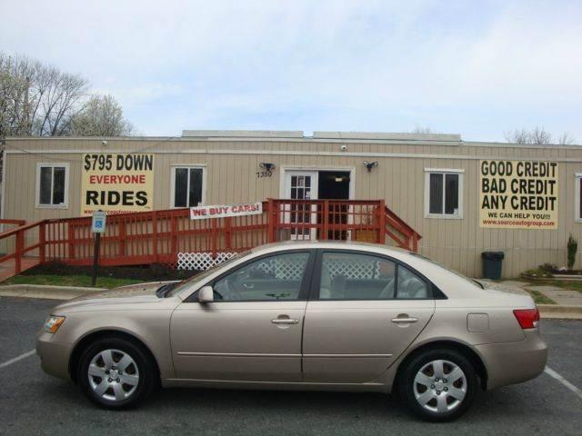 2007 Hyundai Sonata for sale at Source Auto Group in Lanham MD