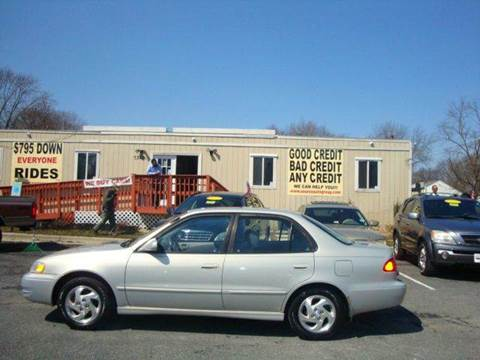 1999 Toyota Corolla for sale at Source Auto Group in Lanham MD