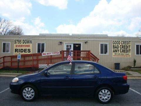 2004 Toyota Corolla for sale at Source Auto Group in Lanham MD