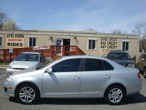 2007 Volkswagen Jetta for sale at Source Auto Group in Lanham MD