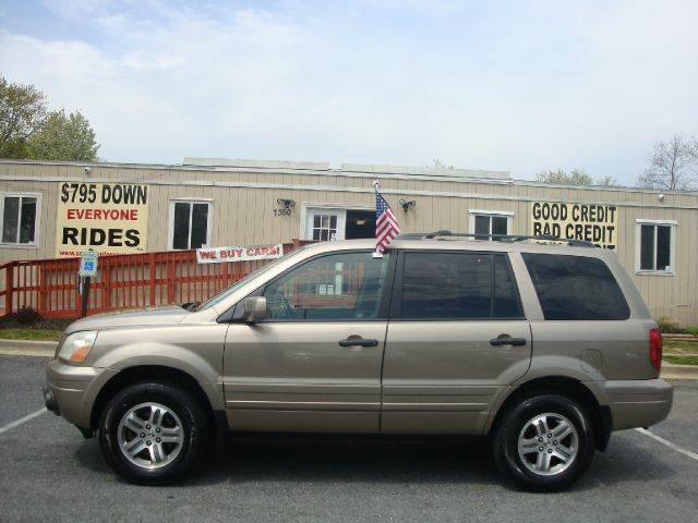 2004 Honda Pilot for sale at Source Auto Group in Lanham MD