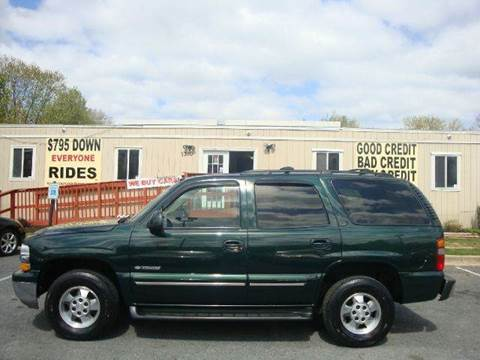 2001 Chevrolet Tahoe for sale at Source Auto Group in Lanham MD
