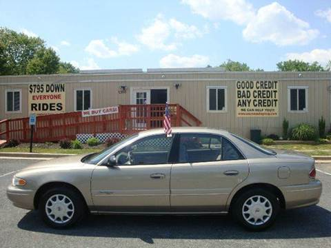 2001 Buick Century for sale at Source Auto Group in Lanham MD