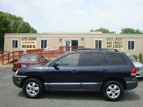 2005 Hyundai Santa Fe for sale at Source Auto Group in Lanham MD