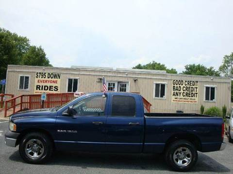 2002 Dodge Ram Pickup 1500 for sale at Source Auto Group in Lanham MD