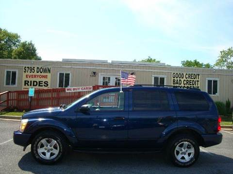 2004 Dodge Durango for sale at Source Auto Group in Lanham MD