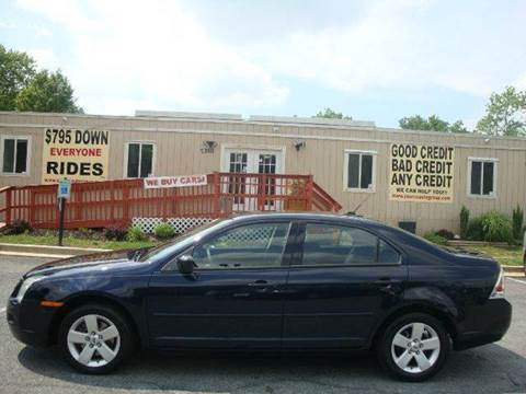 2008 Ford Fusion for sale at Source Auto Group in Lanham MD