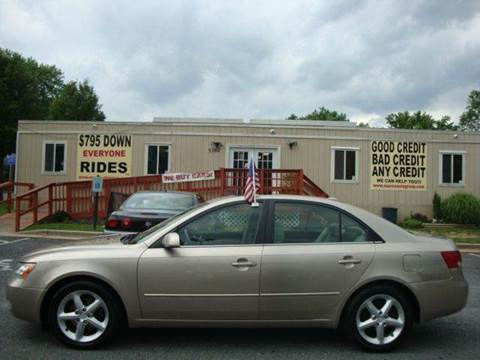 2007 Hyundai Sonata for sale at Source Auto Group in Lanham MD