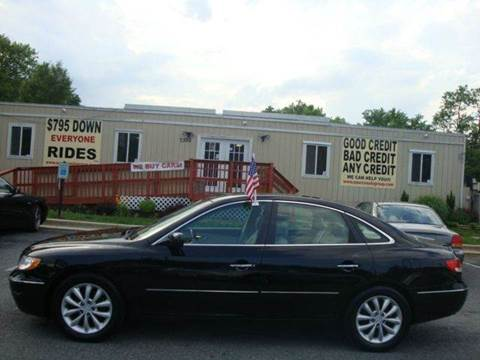 2006 Hyundai Azera for sale at Source Auto Group in Lanham MD