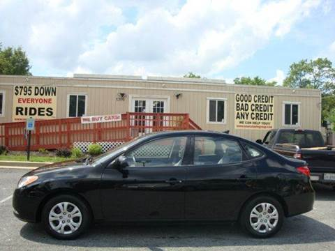 2010 Hyundai Elantra for sale at Source Auto Group in Lanham MD