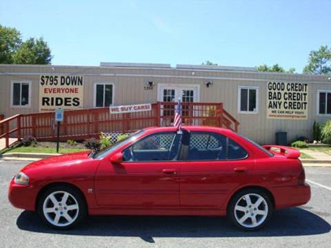 2006 Nissan Sentra for sale at Source Auto Group in Lanham MD