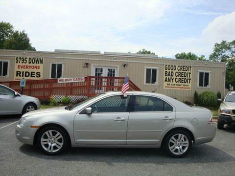2007 Ford Fusion for sale at Source Auto Group in Lanham MD