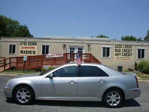 2006 Cadillac STS for sale at Source Auto Group in Lanham MD