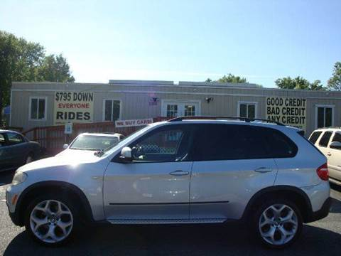 2008 BMW X5 for sale at Source Auto Group in Lanham MD