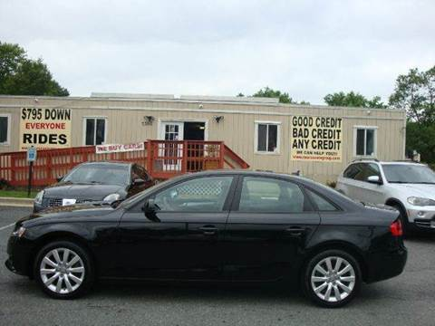 2012 Audi A4 for sale at Source Auto Group in Lanham MD