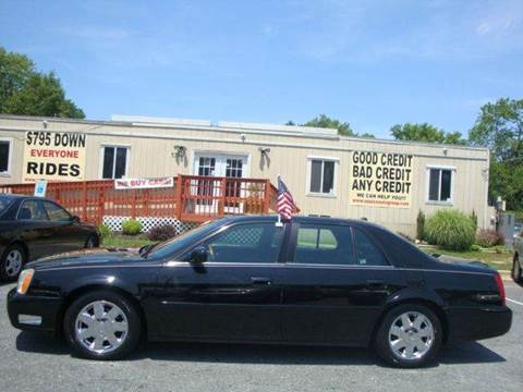 2004 Cadillac DeVille for sale at Source Auto Group in Lanham MD