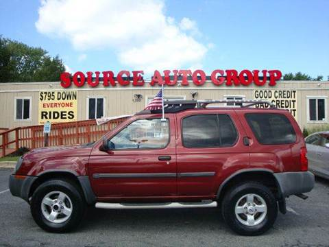 2004 Nissan Xterra for sale at Source Auto Group in Lanham MD