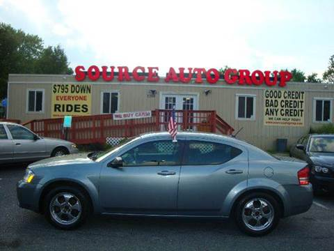 2009 Dodge Avenger for sale at Source Auto Group in Lanham MD