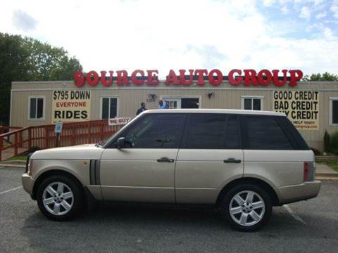 2003 Land Rover Range Rover for sale at Source Auto Group in Lanham MD
