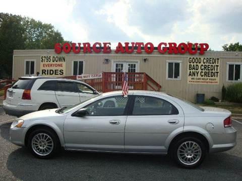 2006 Chrysler Sebring for sale at Source Auto Group in Lanham MD