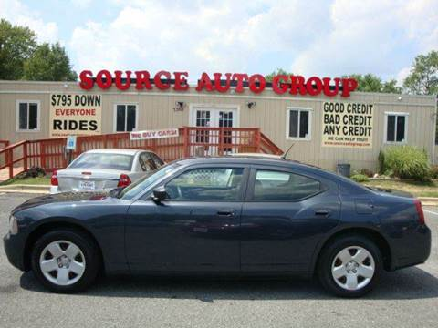 2008 Dodge Charger for sale at Source Auto Group in Lanham MD
