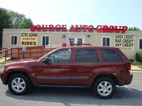 2008 Jeep Grand Cherokee for sale at Source Auto Group in Lanham MD