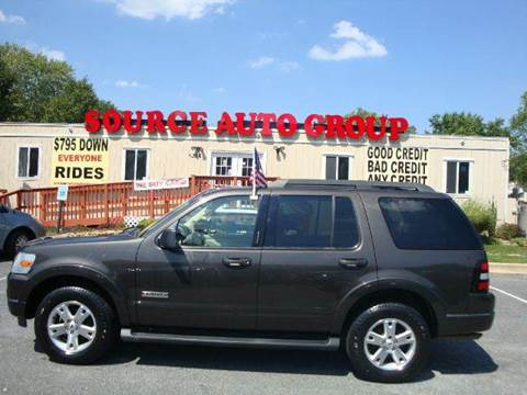 2007 Ford Explorer for sale at Source Auto Group in Lanham MD