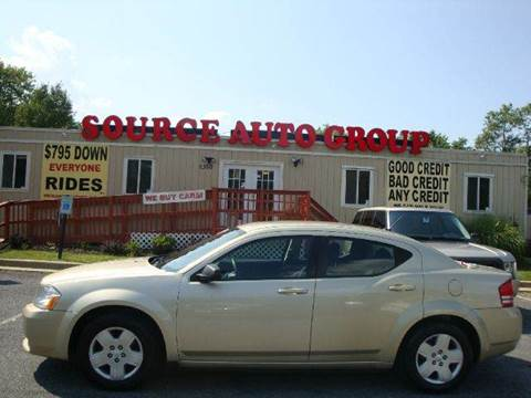 2010 Dodge Avenger for sale at Source Auto Group in Lanham MD