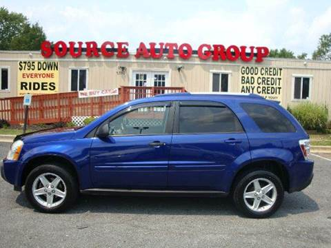 2005 Chevrolet Equinox for sale at Source Auto Group in Lanham MD