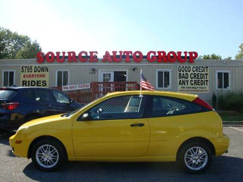 2007 Ford Focus for sale at Source Auto Group in Lanham MD