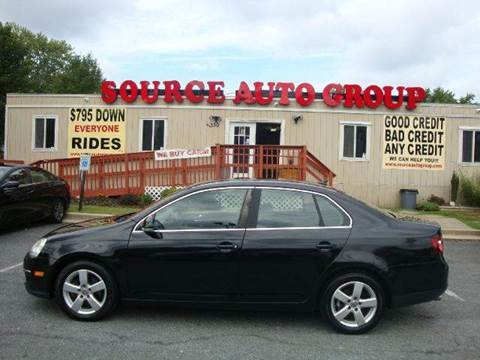 2008 Volkswagen Jetta for sale at Source Auto Group in Lanham MD
