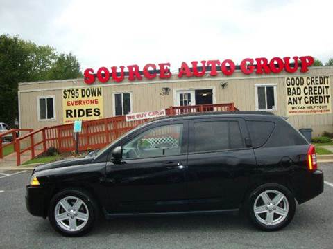 2007 Jeep Compass for sale at Source Auto Group in Lanham MD