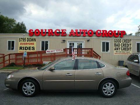 2007 Buick LaCrosse for sale at Source Auto Group in Lanham MD