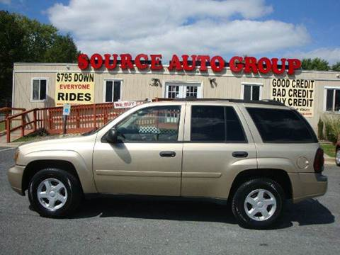 2006 Chevrolet TrailBlazer for sale at Source Auto Group in Lanham MD