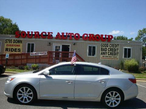 2010 Buick LaCrosse for sale at Source Auto Group in Lanham MD