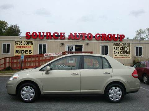 2007 Nissan Versa for sale at Source Auto Group in Lanham MD