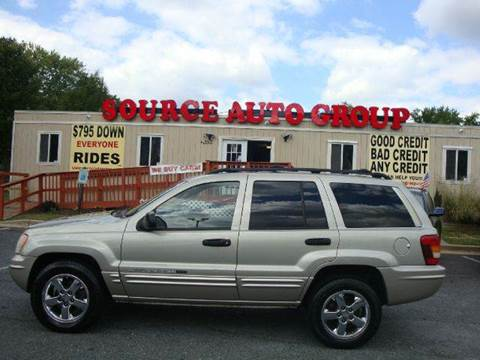 2004 Jeep Grand Cherokee for sale at Source Auto Group in Lanham MD