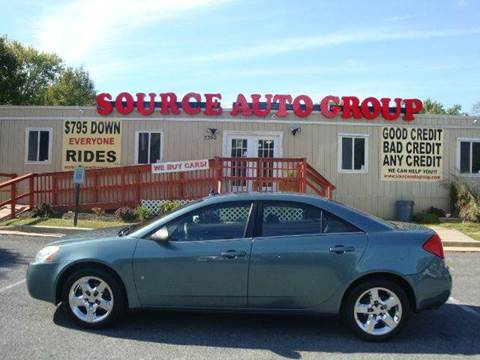 2009 Pontiac G6 for sale at Source Auto Group in Lanham MD