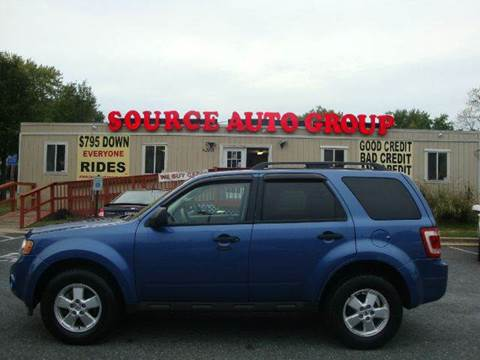 2010 Ford Escape for sale at Source Auto Group in Lanham MD