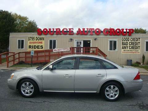 2007 Ford Five Hundred for sale at Source Auto Group in Lanham MD
