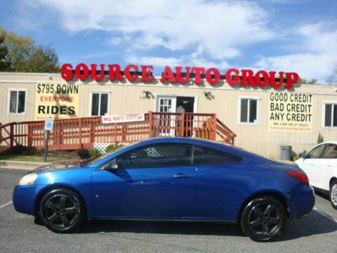 2007 Pontiac G6 for sale at Source Auto Group in Lanham MD