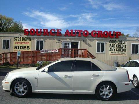 2007 Cadillac STS for sale at Source Auto Group in Lanham MD