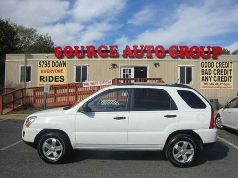 2010 Kia Sportage for sale at Source Auto Group in Lanham MD