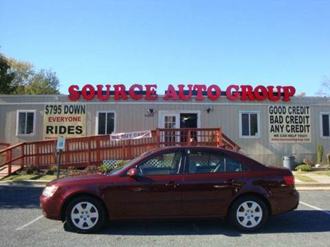 2009 Hyundai Sonata for sale at Source Auto Group in Lanham MD