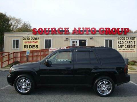 2005 Chevrolet TrailBlazer for sale at Source Auto Group in Lanham MD