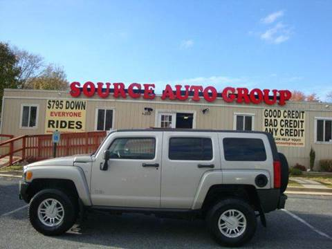 2007 HUMMER H3 for sale at Source Auto Group in Lanham MD