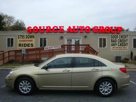 2010 Chrysler Sebring for sale at Source Auto Group in Lanham MD