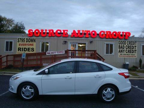 2012 Ford Focus for sale at Source Auto Group in Lanham MD