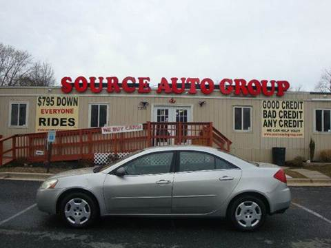 2006 Pontiac G6 for sale at Source Auto Group in Lanham MD